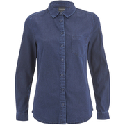 Selected Femme Women's Selma Denim Shirt - Dark Blue Denim
