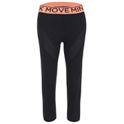 MINKPINK Women's Time to Move Leggings - Black/Neon