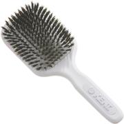 Kent AH13W AirHeadz Medium Pure Bristle Paddle Hair Brush - White