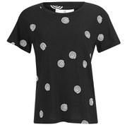 Cheap Monday Women's Spiral Dot T-Shirt - Black