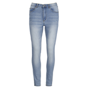 Cheap Monday Women's Second Skin High Waisted Skinny Jeans - Space Blue