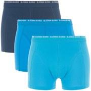 Bjorn Borg Men's 3 Pack Boxers - Aquarius - S