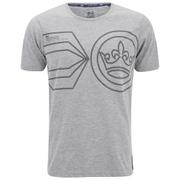 Crosshatch Men's Pegasus Print T-Shirt - Grey Marl