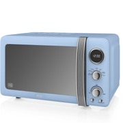 Swan SM22030BLN Digital Microwave - Blue - 800W