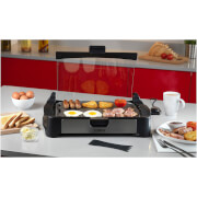 Tower T14009 Reversible Health Grill & Oven - Black
