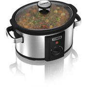 Tower T16010 3.5L Manual Slow Cooker - Silver