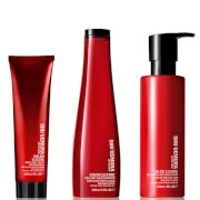 Shu Uemura Art of Hair Color Lustre Sulfate Free Shampoo (300ml), Conditioner (250ml) and Thermo-Milk (150ml) фото
