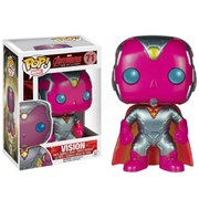 Marvel Avengers Age Of Ultron Vision Metallic Limited Edition Pop! Vinyl Figure