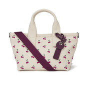 Marc by Marc Jacobs Women's Embroidered Fruit Canvas Small Tote Bag - Off White Cherry