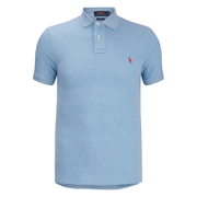 Polo Ralph Lauren Mens Short Sleeve Custom Fit Polo Shirt  French Turquoise  XL