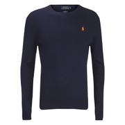 Polo Ralph Lauren Mens Crew Neck Pima Cotton Knitted Jumper  Hunter Navy  XXL