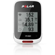 Polar M450 White HR Cycling Computer