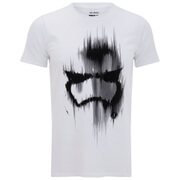 Star Wars Trooper Mask Heren T-Shirt - Wit