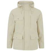 GANT Rugger Mens Fjord Parka Jacket  Off White  XL