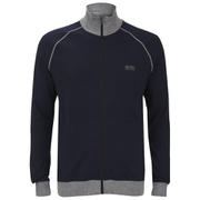 BOSS Hugo Boss Men's Zipped Sweatshirt - Navy