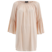 VILA Women's Alantata Long Sleeve Tunic Dress - Pink Sand