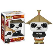 Kung Fu Panda POP! Movies Vinyl Figura Po In Hat