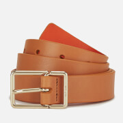 Paul Smith Accessories Women's Leather Contrast Belt - Orange