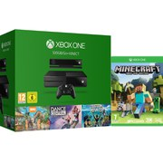 Xbox One Holiday Value Bundle  Includes Minecraft
