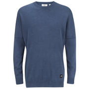 Cheap Monday Men's Combine Jumper - Daft Blue