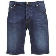 Cheap Monday Men's Line Denim Shorts - Echo