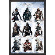 Assassin's Creed Compilation - Framed Maxi Poster