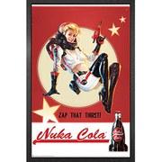 Fallout 4 Nuka Cola - Framed Maxi Poster