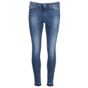 BOSS Orange Women's J10 Florida Frayed Cuff Jeans - Blue