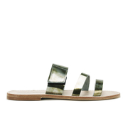 Prism Women's Curacao Slide Sandals - Rust Metal