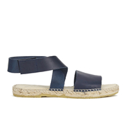 Prism Women's Naxos Ankle Strap Leather Sandals - Marine
