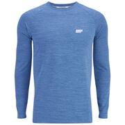 Le t-shirt de Performance à manches longues Homme, Bleu
