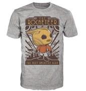 Disney The Rocketeer Pop! T-Shirt - Grey