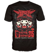 T-Shirt Babymetal Rock Poster Pop! - Noir