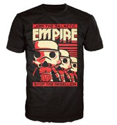 Star Wars Stormtrooper Poster Pop! T-Shirt - Noir