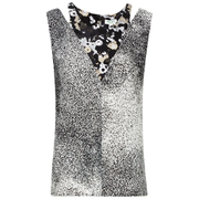 KENZO Women's Sand Silk Sleeveless Top - Antracite