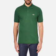 Lacoste Men's Short Sleeve Pique Polo Shirt - Chlorophyll