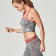 Womens Gym Top - Grey