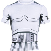 Under Armour Men's Star Wars Trooper Compression Short Sleeve T-Shirt - White