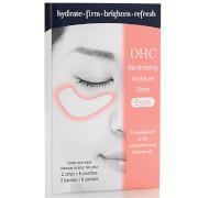 Увлажняющие восстанавливающие патчи для кожи под глазами DHC Revitalizing Moisture Strip: Eyes - 6 пар  - Купить