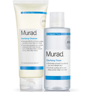 Murad Clarifying Cleanser and Toner Duo (Worth £39)