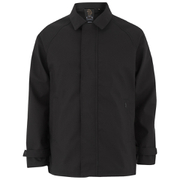 Luke Men's Enforcer Clean Mac Coat - Jet Black