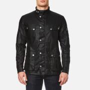 Barbour International Men's Enfield Wax Jacket - Black