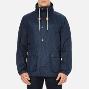 Barbour Mens Hooded Bedale Jacket  Navy  XL