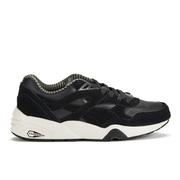 Puma Men's Running R698 Citi Series Low Top Trainers - Black/Vaporous Grey