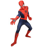 Morphsuit Adults Deluxe Zapper Marvel SpiderMan  L
