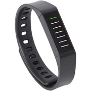 3plus Snap Bluetooth Activity Tracker with App (Compatible with Apple & Android) - Black