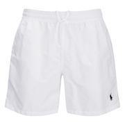 Polo Ralph Lauren Mens Hawaiian Swim Shorts  White  S