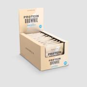 Brownie Protéiné - 12 x 75g - Chocolat blanc