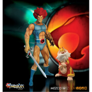 Mezco Toys ThunderCats Lion-O and Snarf 14 Inch Figure