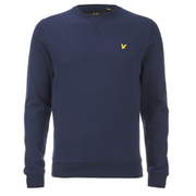 Lyle & Scott Vintage Men's Crew Neck Sweatshirt - Navy